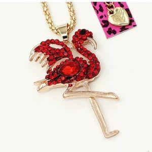 Betsey Johnson flamingo 🦩 necklace.